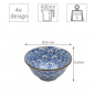 Preview: Kristal 4pcs. Rice Bowl Set  at Tokyo Design Studio (picture 6 of 6)