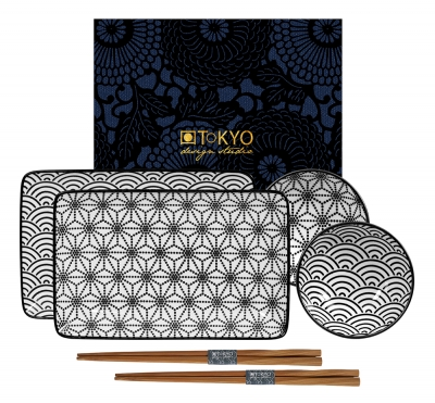 TDS, Sushi Set, Nippon Black, Art.-Nr. 15150