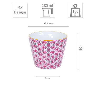 4 pcs Cup Set at Tokyo Design Studio (picture 6 of 6)