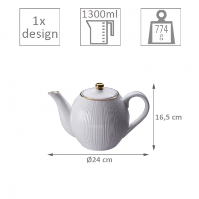 Nippon White Teapot at Tokyo Design Studio (picture 2 of 2)