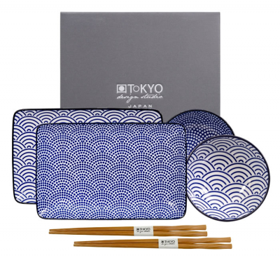 Nippon Blue Sushi Set at Tokyo Design Studio (picture 1 of 7)