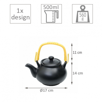 Black Series Teapot at Tokyo Design Studio (picture 2 of 2)