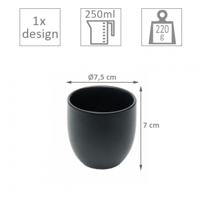 Black Series Tea Cup at Tokyo Design Studio (picture 2 of 2)
