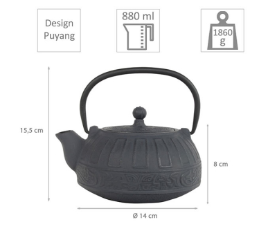 Puyang iron cast teapot at Tokyo Design Studio (picture 2 of 5)