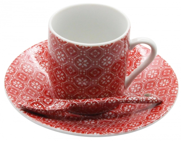 TDS, Espresso Set, Nippon Red, 18 tlg., Art.-Nr. 14888