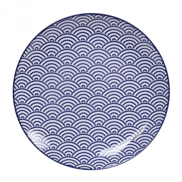Nippon Blue Plate Set at Tokyo Design Studio (picture 2 of 5)