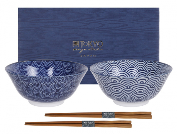 Nippon Blue Tayo Bowls at Tokyo Design Studio (picture 1 of 4)