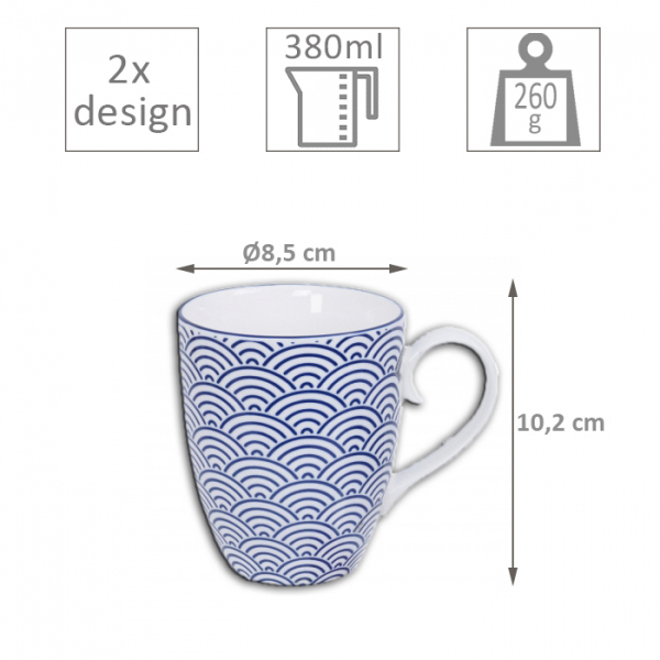 2 pcs Mug Set at Tokyo Design Studio (picture 3 of 4)