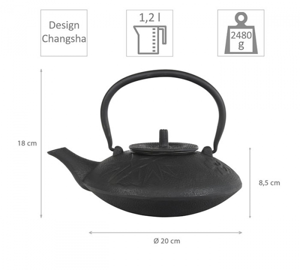 Changsha iron cast teapot at Tokyo Design Studio (picture 2 of 4)