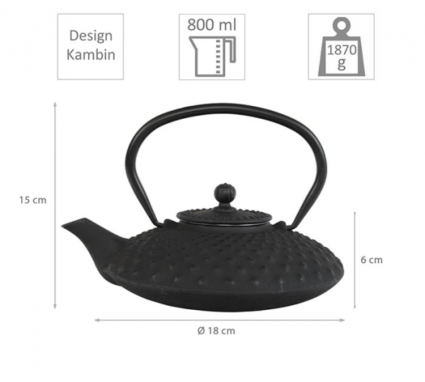 Kambin iron cast teapot at Tokyo Design Studio (picture 2 of 7)