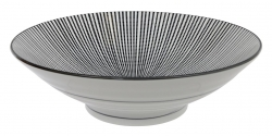 TDS, Bowl, Sendan Black, Ø 24,5cm, Item No. 14412
