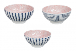 TDS, Mixed Bowls, Crackle, 18.5 x 9cm, 1000ml