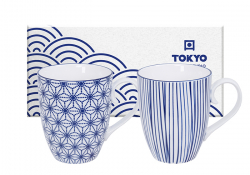TDS, 2 Tassen Set, Nippon Blue, 380 ml, Art.-Nr. 15650