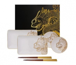 TDS, Sushi Set, Dragon, 6tlg, Art.-Nr. 16201