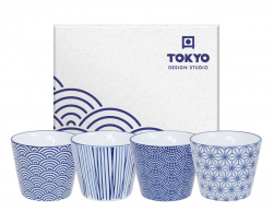 TDS, 4 Teebecher Set, Nippon Blue, 180 ml, Art.-Nr. 17836