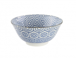 TDS, Rice Bowl, Floral Blue, Ø 13,5 cm, Item No. 7096