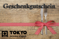 Digital gift voucher - red bow